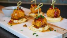 Mini Chicken & Waffle Stacks