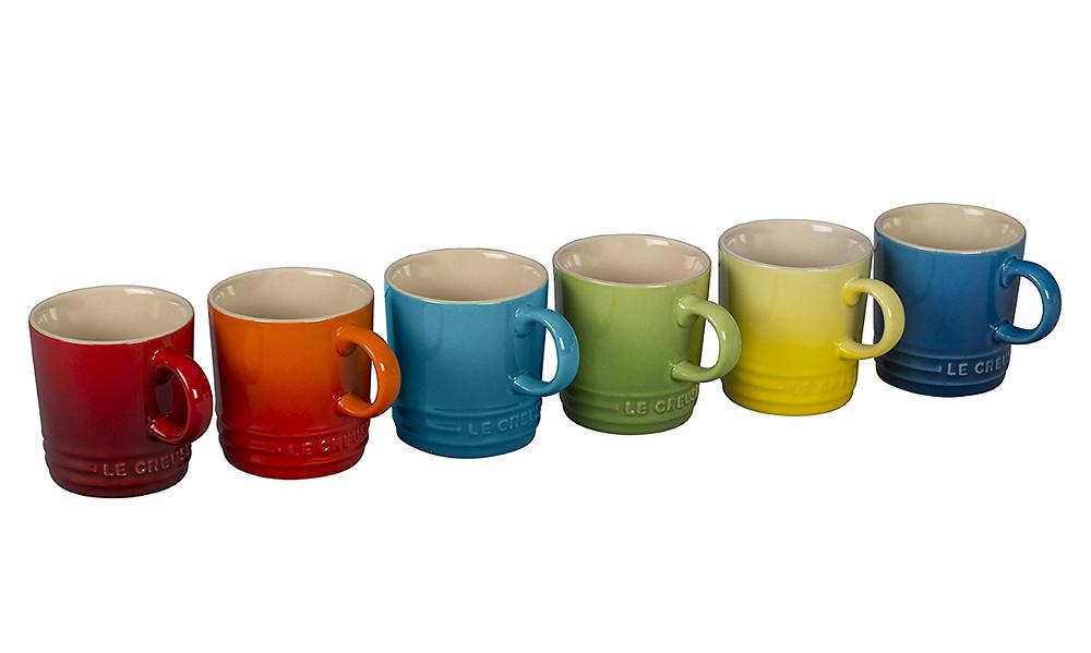 Le Creuset 6 Piece Set Espresso Cups $69