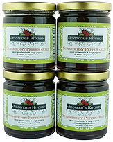 Jennifer's Strawberry Pepper Jelly 4pk