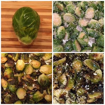 Parmesan Roasted Brussel Sprouts