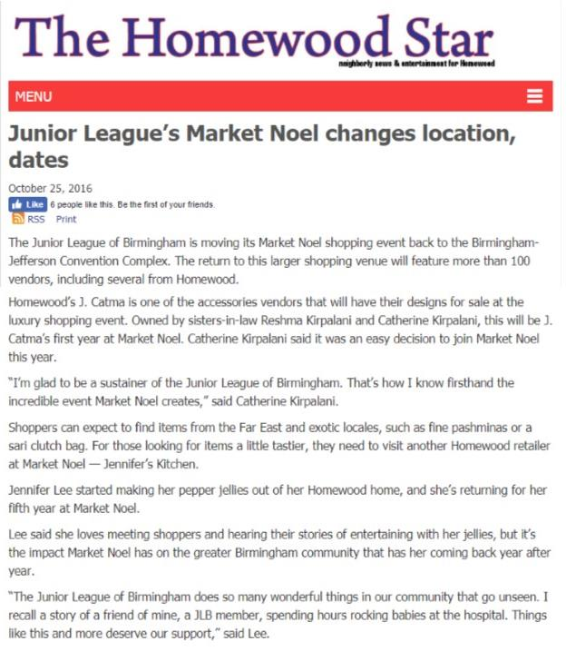 Homewood Star Market Noel Changes