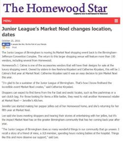 Homewood Star Market Noel Changes
