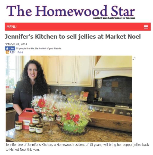 Homewood Star Market Noel Article