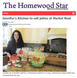 Homewood Star Market Noel Article