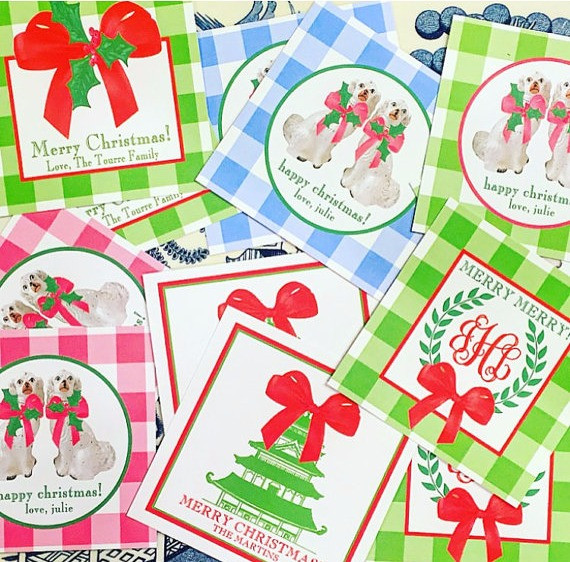 Preppy Paper Girl Cards
