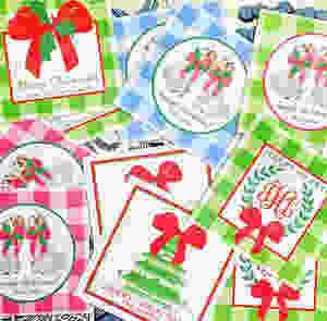 Preppy Paper Girl Cards