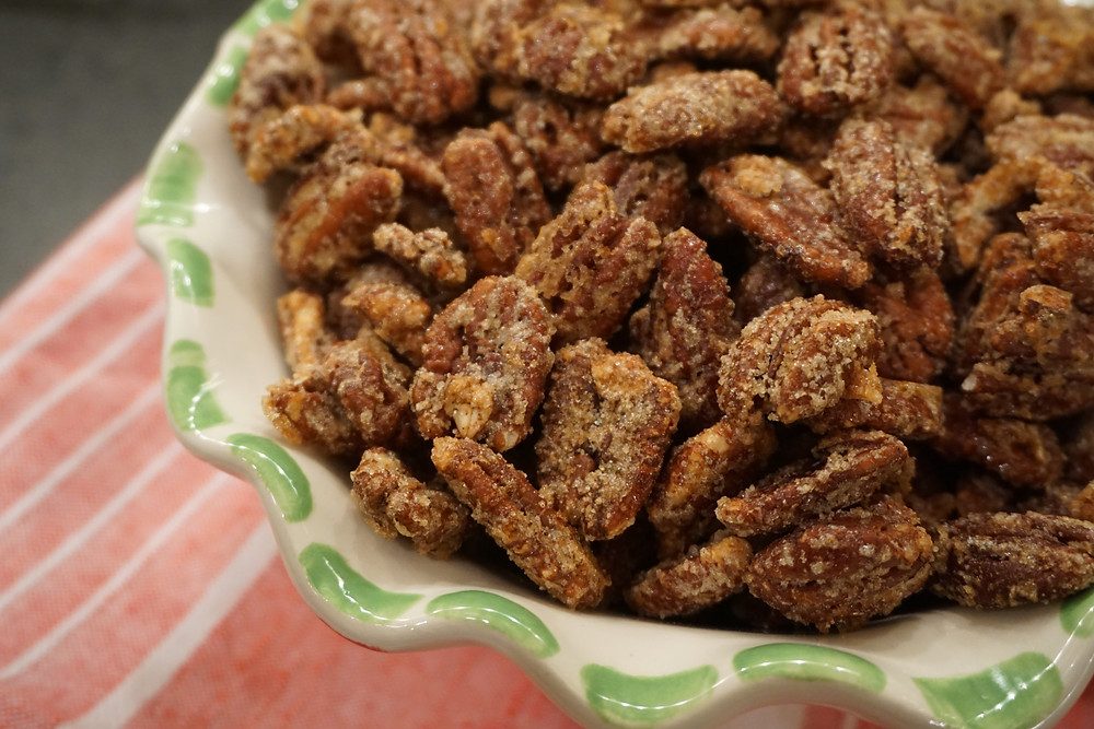 Party favorite sweet & spicy toasted nuts!
