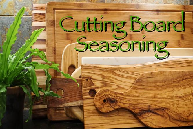 Old & New Cutting Board Seasoning