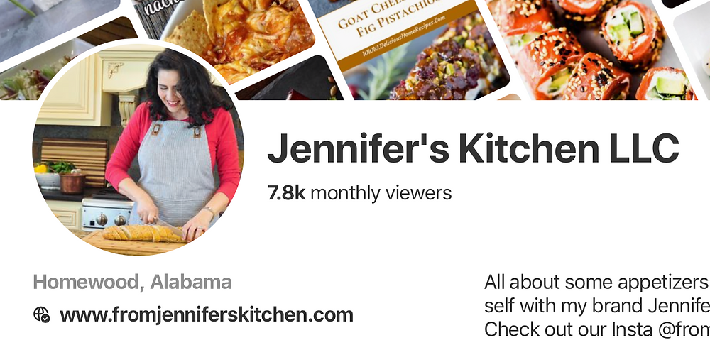 Jennifer's Kitchen Pinterest Page