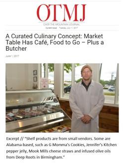 OTMJ Market table