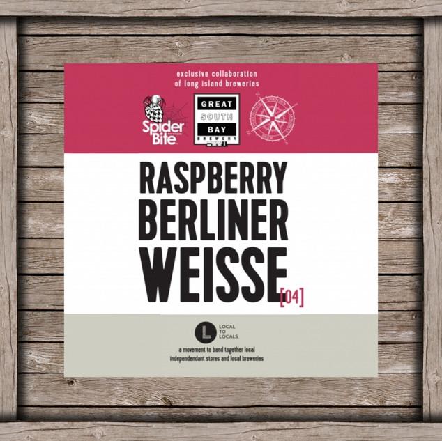 Raspberry Berliner Weisse Logo