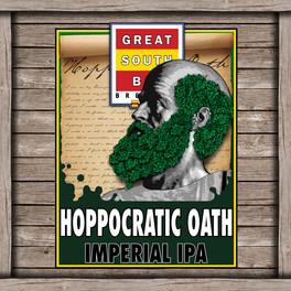 Hoppocratic Oath Logo