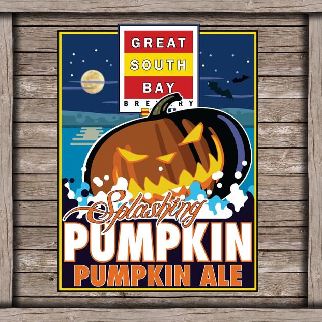 Splashing Pumpkin Logo