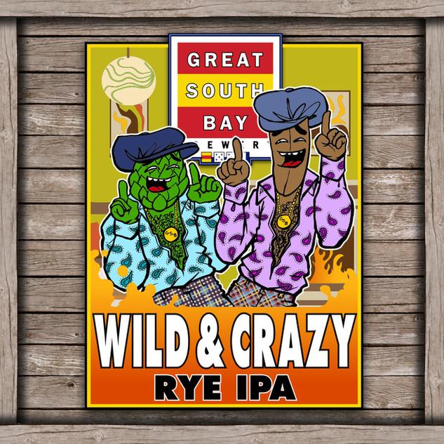 Wild and Crazy Logo