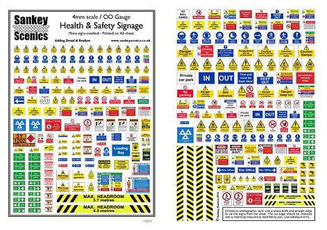 4mm Health & Safety Signage
