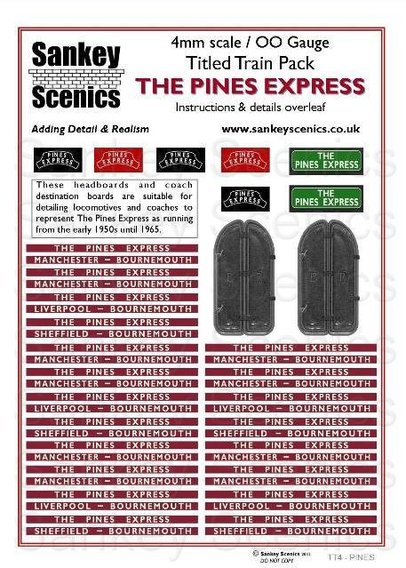 4mm Titled Train: The Pines Express