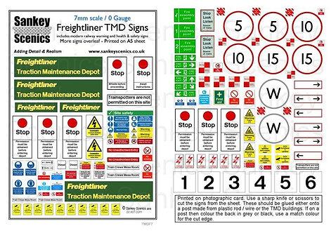 7mm TMD Signage Freightliner