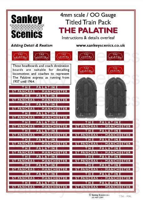 4mm Titled Train: The Palatine