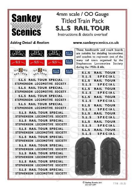 4mm Titled Train: SLS Specials