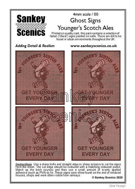 4mm Ghost Signs - Youngers