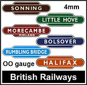 Web button British Railways Station. 2.j