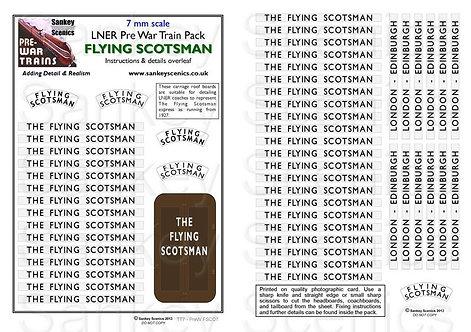 7mm Pre-war Titled Train: Flying Scotsman