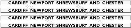7Web Pic GWR Hawk Western Card New Shrew