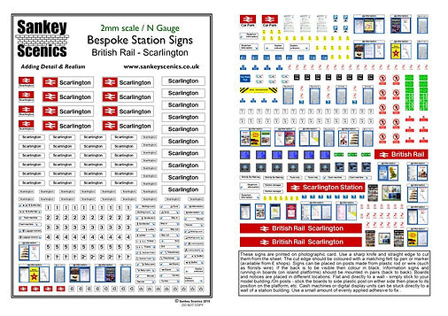 N Gauge British Rail Corporate EXAMPLE.j