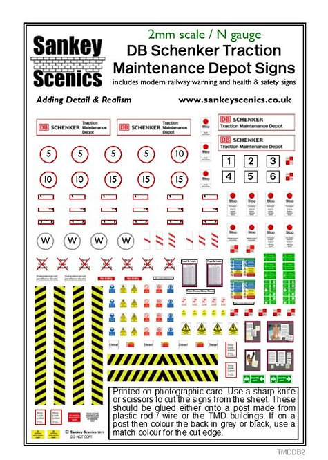 2mm TMD Signage DB Schenker