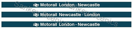 4Web Pic Motorail Boards London to Newca