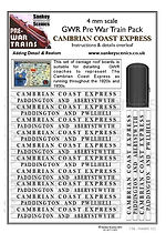 4 mm Scale Pre War Cambrian Coast Expres