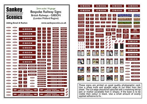 2mm A5 Customised British Railways Station: London Midland Region