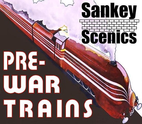 7mm Pre-war Titled Train: Scandinavian