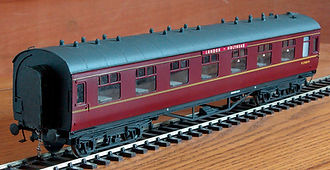 Model Railway Coach Destination Boards O