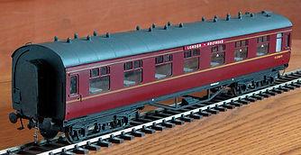 Model Railway Coach Destination Boards O