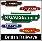 Web button British Railways Station N Ga