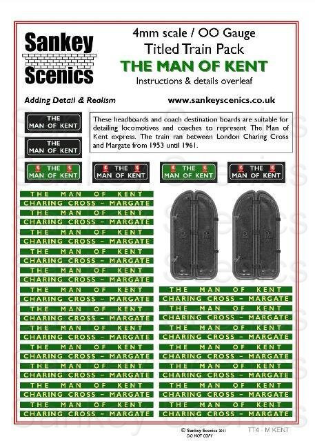 4mm Titled Train: The Man of Kent
