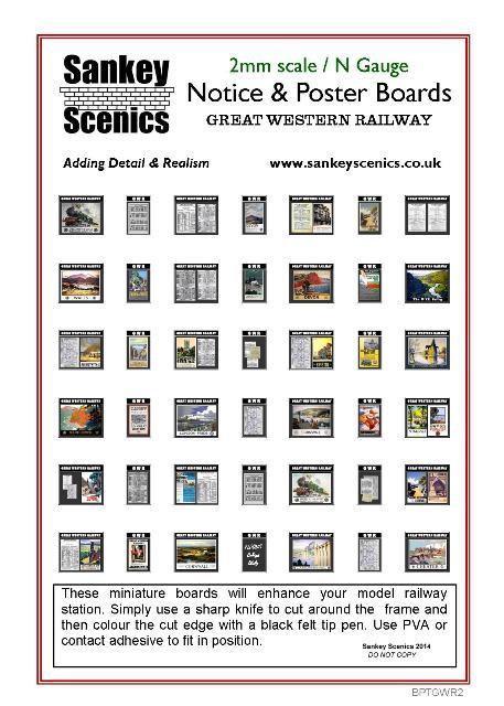 2mm GWR Notice & Poster Boards