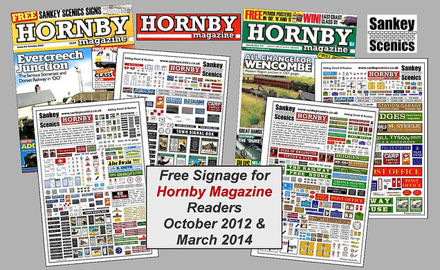 free signage for Hornby Magazine readers