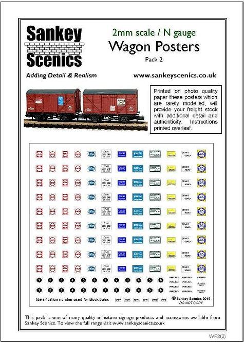 2mm Wagon / Van Poster Pack 2