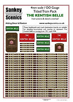 4 mm Scale Named Train Kentish Belle NEW