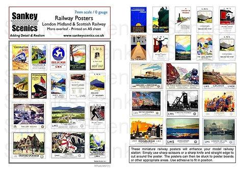 7mm London Midland & Scottish Posters