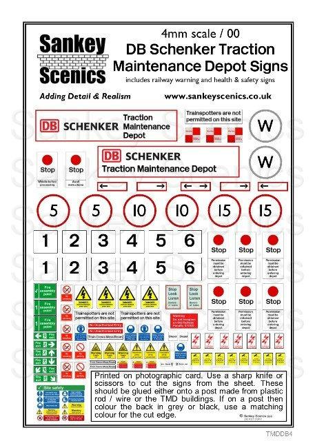 4mm TMD Signage DB Schenker