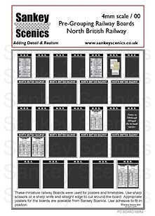 Railway Boards Pre Grouping North Britis