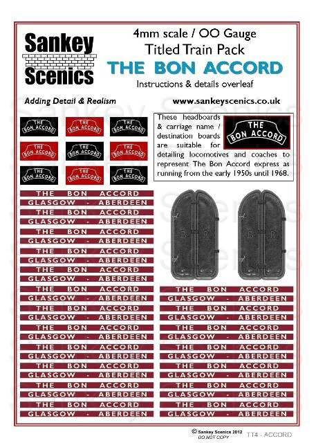 4mm Titled Train Pack: The Bon Accord