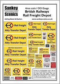 4 mm Scale British Railways Rail Freight