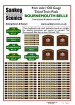 4 mm Scale Named Train Bournemouth Belle