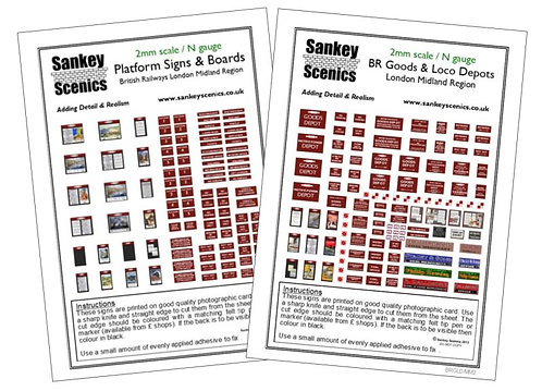 2mm London Midland Region Combination Pack