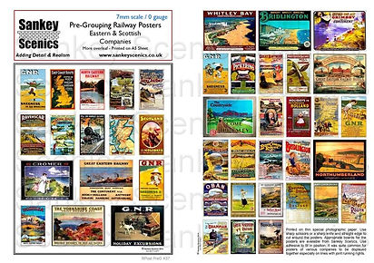 7 mm Pre Grouping Railway Posters East S