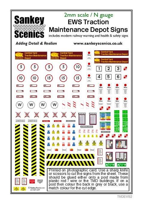 2mm TMD Signage EWS